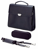 Портфель Fujitsu Notebook Supreme Case Coach Leather Black 14.1