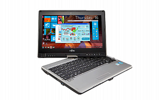 Ноутбук-трансформер Fujitsu LIFEBOOK T734 Tablet PC 4G / touch anti-glare + порт-репликатор