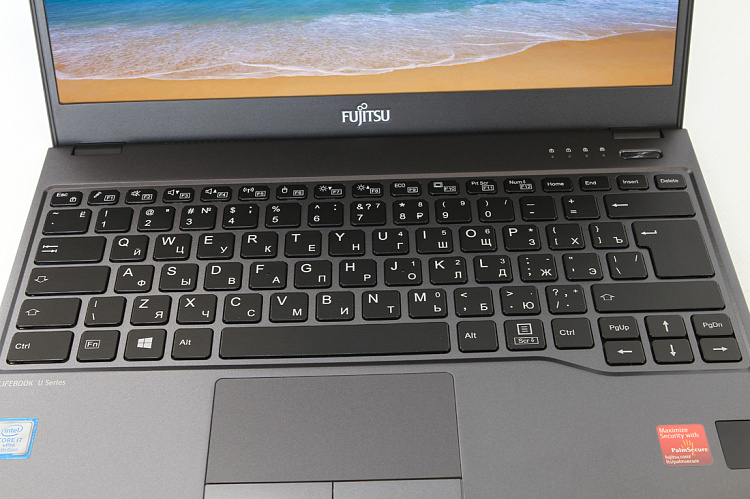 Ноутбук Fujitsu LIFEBOOK U938 black, Full HD IPS Touch Glare + порт-репликатор Type-C KIT Fujitsu LKN:U9380M0008RU/20GB/SSD512GB/WIN10PRO