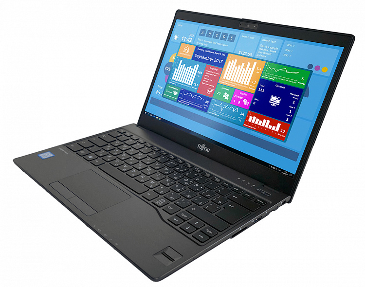 Ноутбук Fujitsu LIFEBOOK U937 black, Full HD IPS Touch Glare + порт-репликатор Type-C KIT Fujitsu LKN:U9370M0016RU