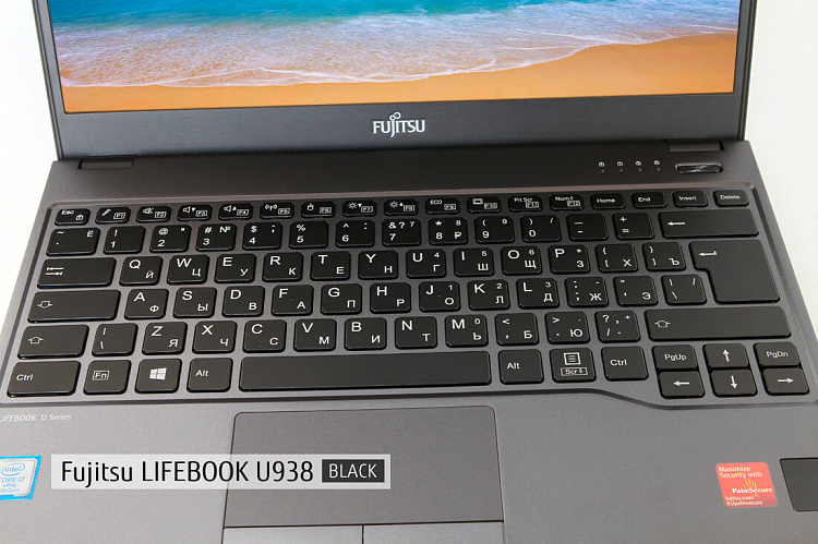 Ноутбук Fujitsu LIFEBOOK U938 RED, Full HD IPS Touch Glare + порт-репликатор Type-C KIT Fujitsu LKN:U9380M0014RU/12GB/SSD256GB/WIN10PRO